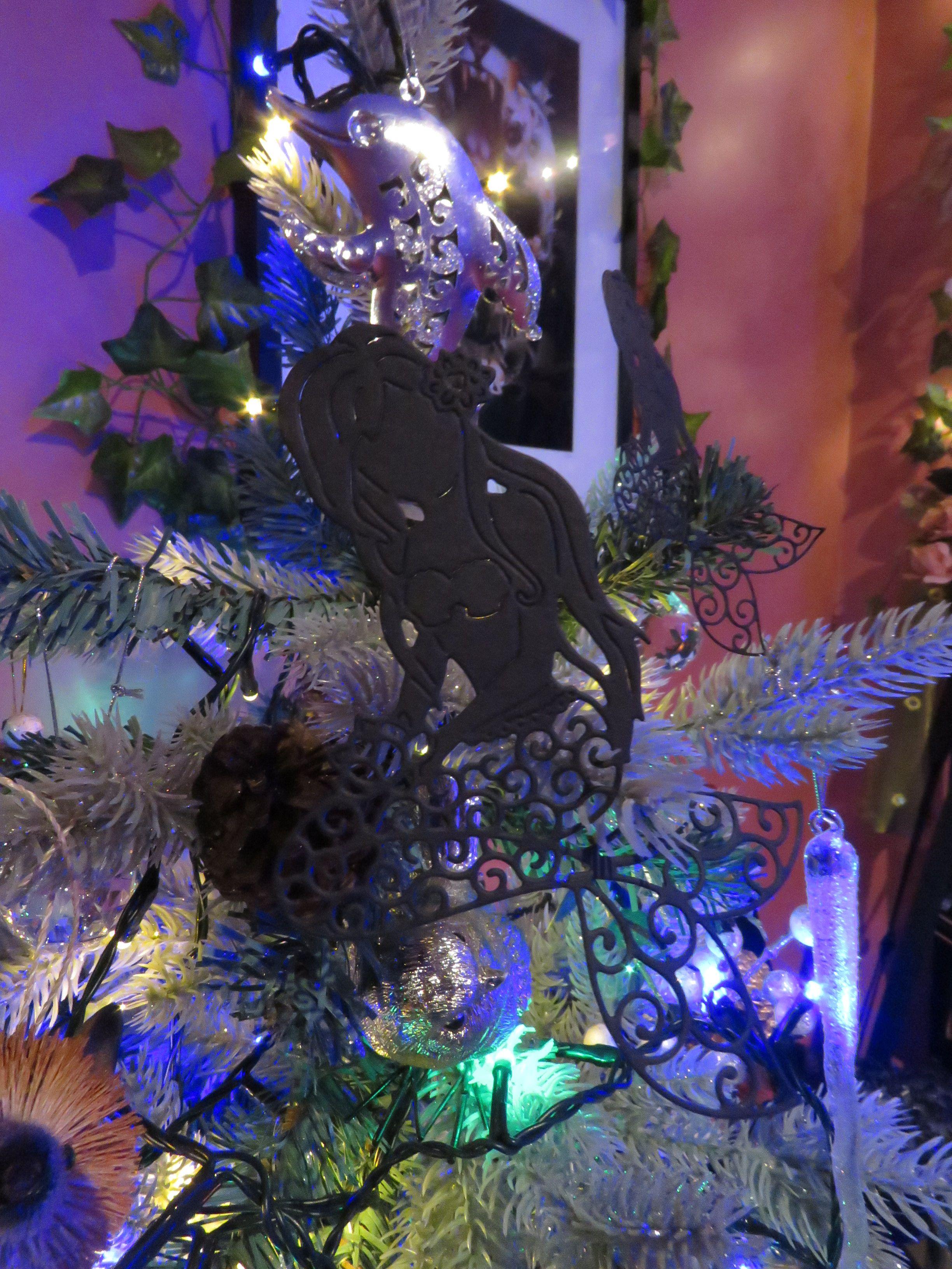 Xmas dolphin and mermaid decoration :)