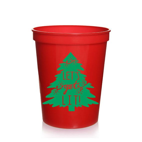 Holiday Christmas Party Ideas Part - 39: Letu0027s Get Lit Holiday Christmas Party Ideas, Holiday Party Favors, Christmas  Ideas, Christmas