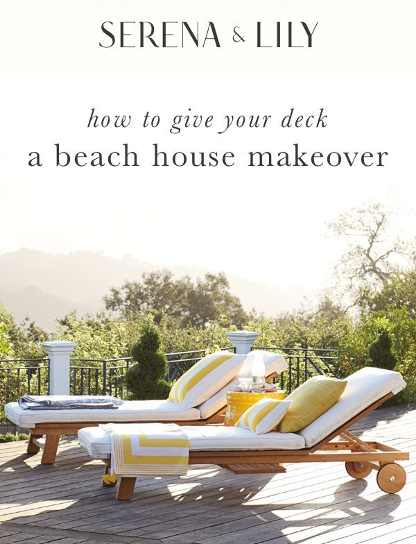 Find the beach house essentials to make your home feel like