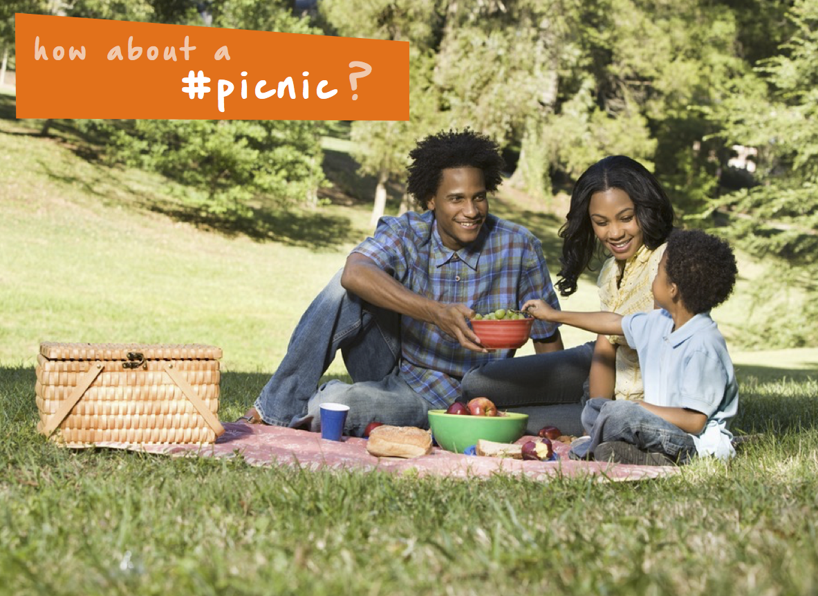 How about a family picnic at a park near you this