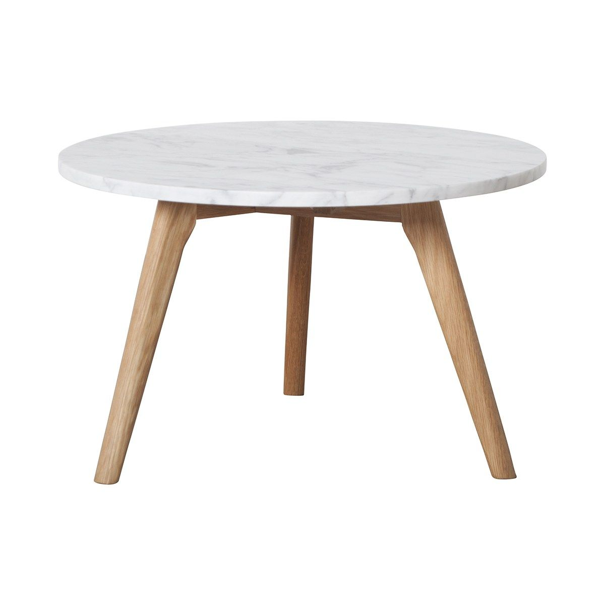 White Stone Side Table Round Coffee Table Modern Table Furniture