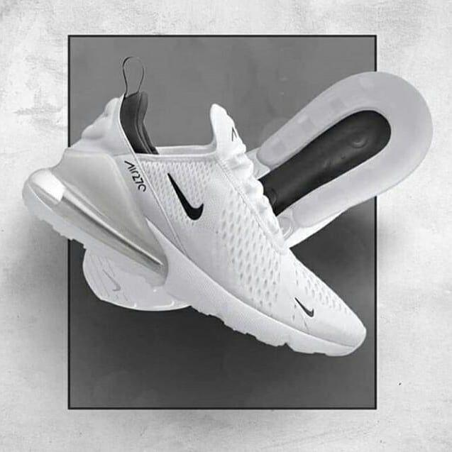 Nike Air Max 270 Light PinkPure White en 2020 | Chaussure