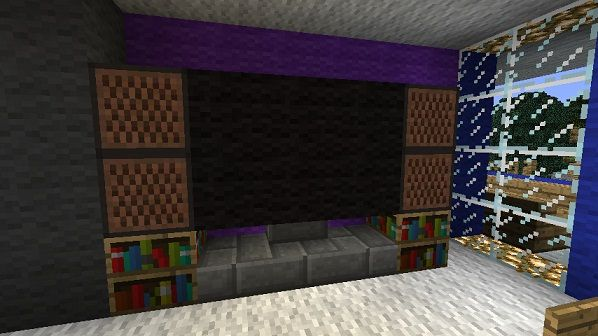 Furniture Design Minecraft minecraft furniture - electronics | amazing minecraft builds