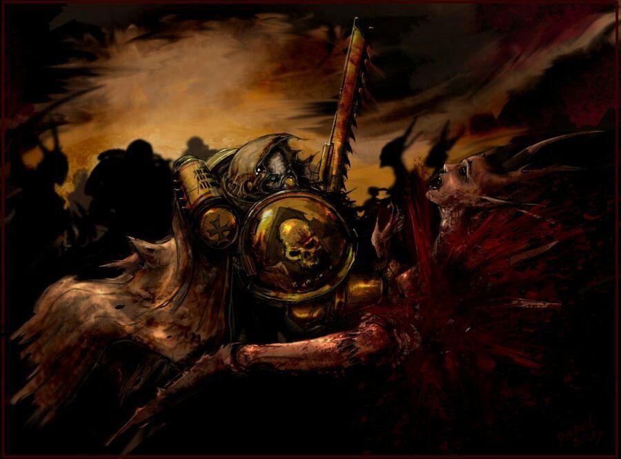 Warhammer 40k Chaplain