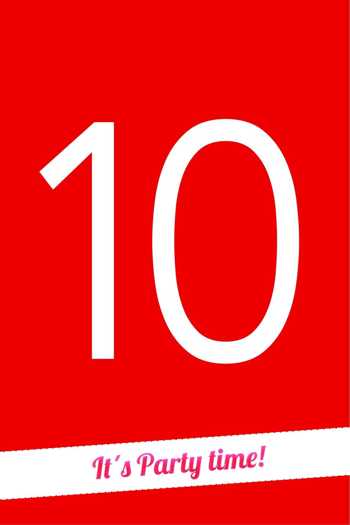 Einladung 10 Geburtstag Blau | Geburtstag Für Große Jungs | Pinterest |  Einladungen, Geburtstage Und Blau