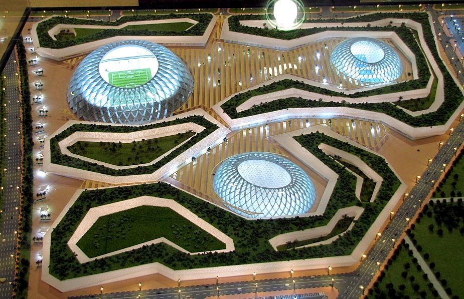 Stade d 39 al wakrah au qatar pour la coupe du monde 2022 par zaha hadid zaha hadid pinterest - Qatar football coupe du monde ...