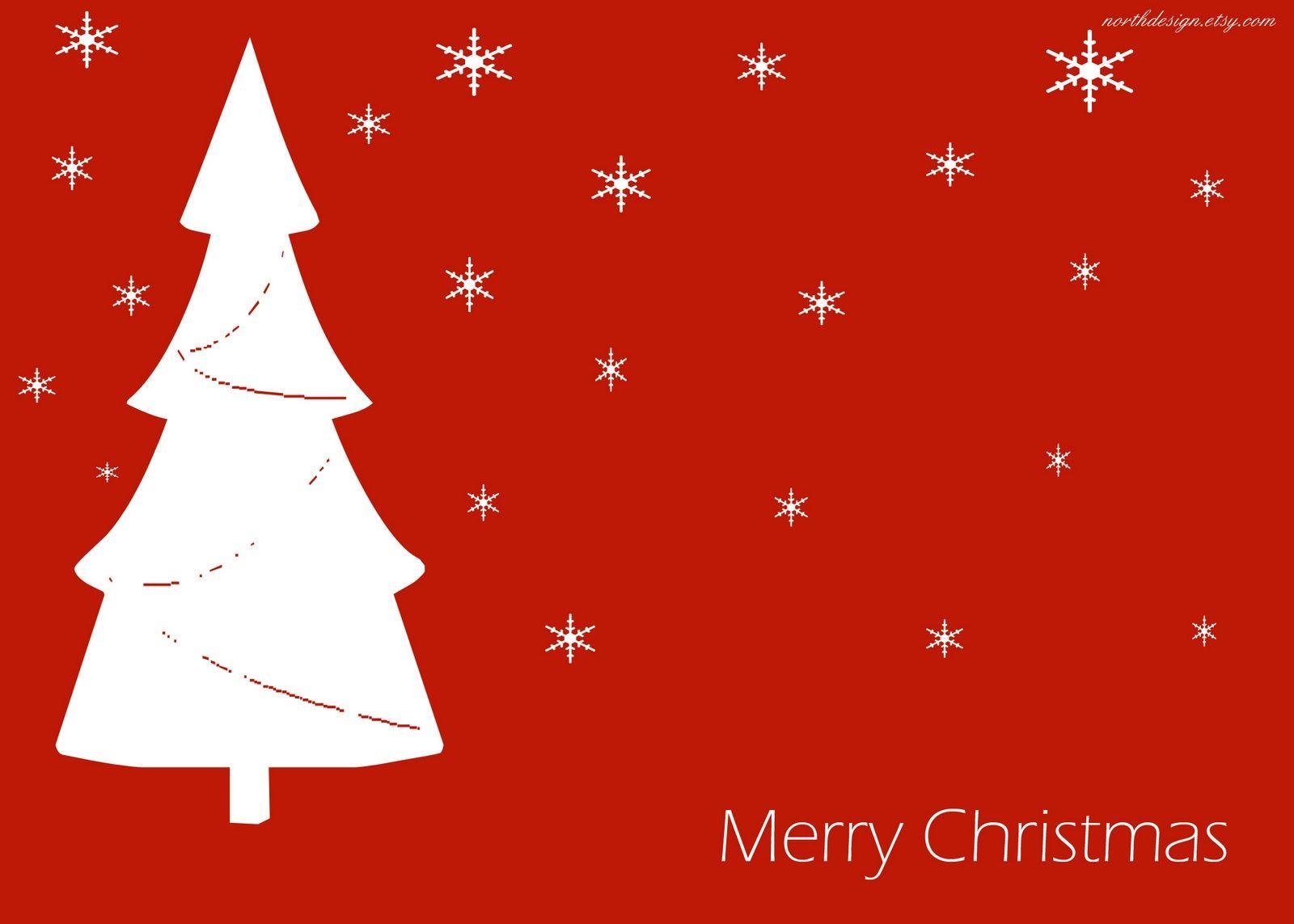 Free Printable Christmas Cards Free Printable Red Christmas Card