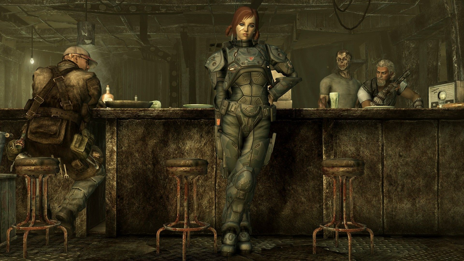 Fallout 3 Hd Desktop Wallpapers > Flip Wallpapers