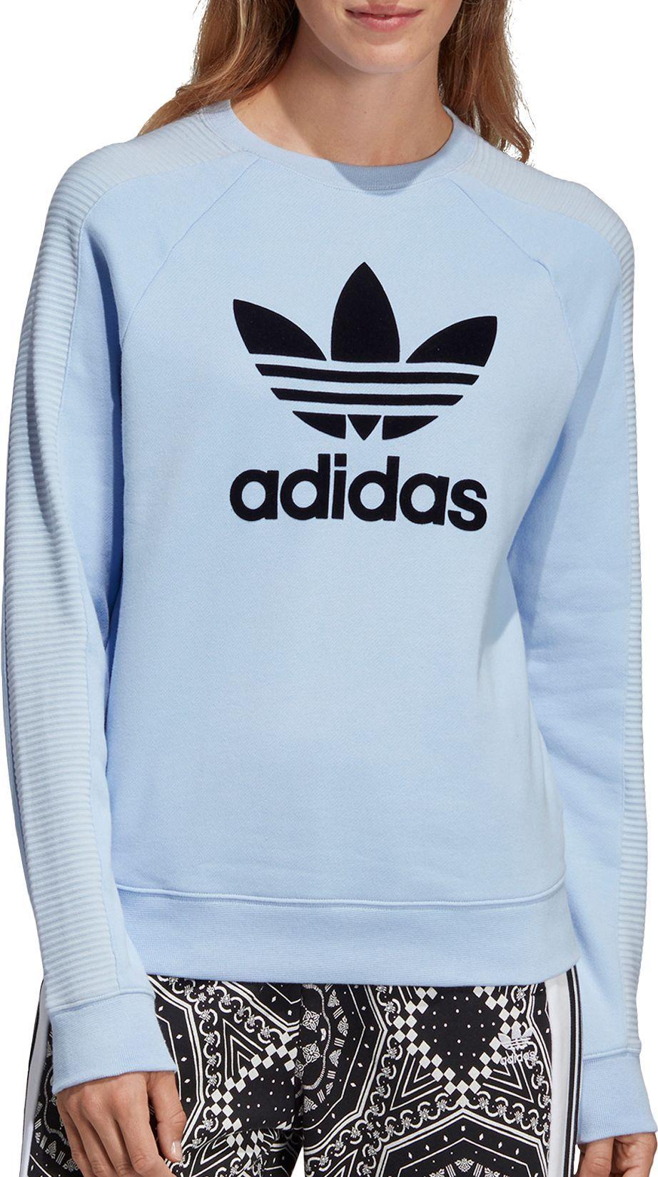 Adidas Originals Adicolour Oversized Crew Neck Sweatshirt With Trefoil Logo At Asos Com Trendy Sweatshirt Crewneck Sweatshirt Women Sweatshirt Outfit [ 1110 x 870 Pixel ]