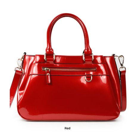 La Terre Fashion Ruby Tote Channel Your Inner Diva With This Sleek And Y Handbag From Fashions Featuring A Stunning New York Sensibility