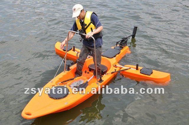 Source Plastic Single Fishing Kayak Winix Canoe With 40lbs Motor On M Alibaba Com Kayak Fishing Best Fishing Kayak Kayaking