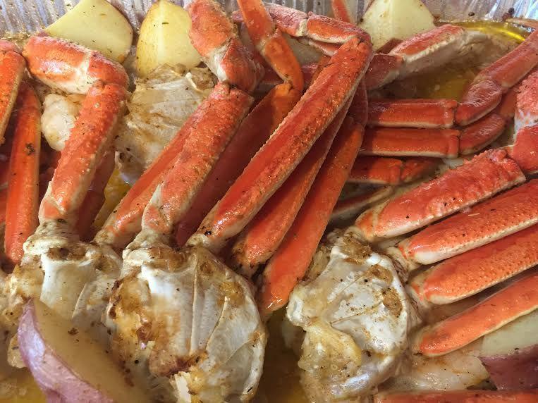 Ingredients 3 lbs Snow Crab Legs 1/2 lb Shrimp 1 3/4 c Butter 7