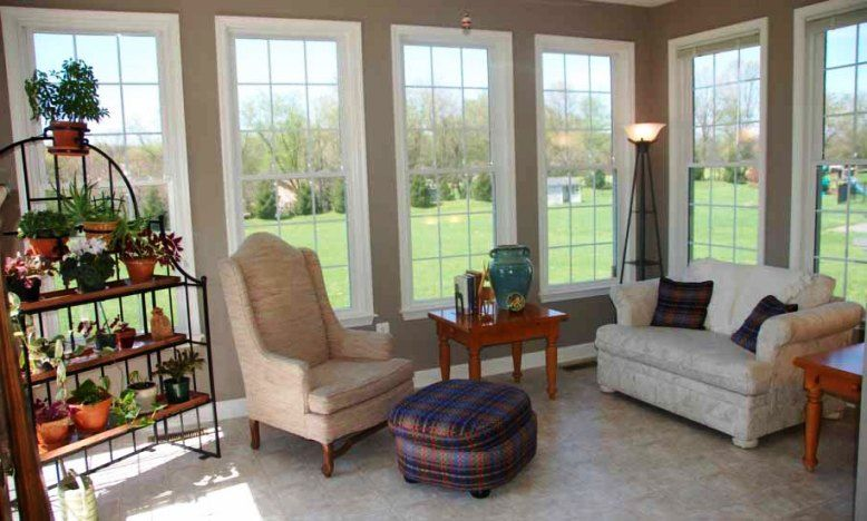 enchanting casual living room chairs | Sunroom Furniture Designs For Casual Family Room (2) | The ...