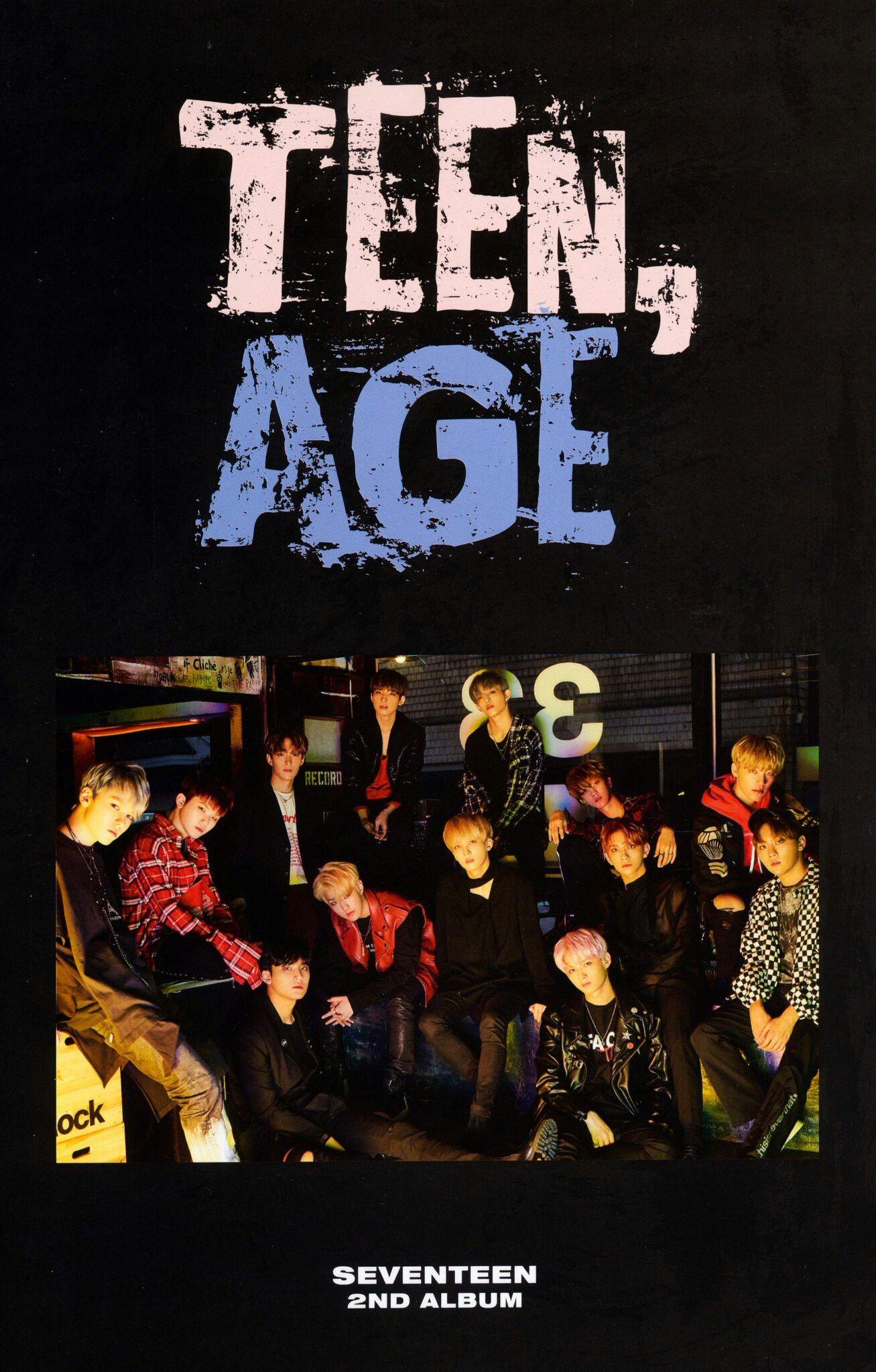 SEVENTEEN Photobook 2nd Album Teen Age   SEVENTEEN (세븐틴