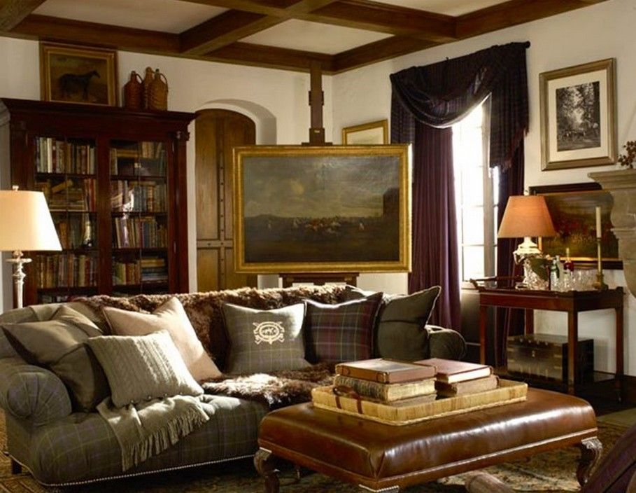 Ralph Lauren Style Home Decor
