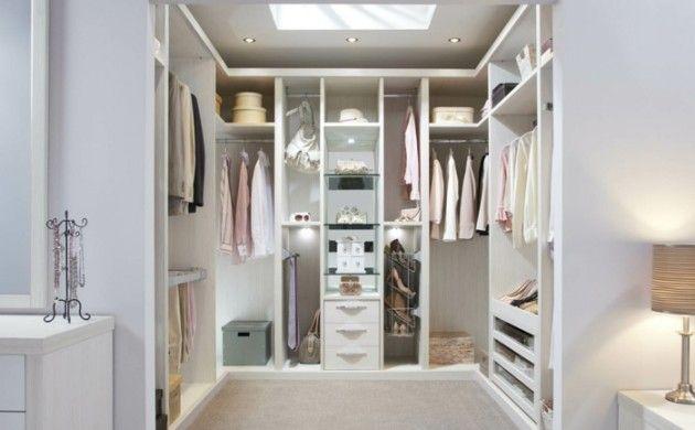 Gestaltung Ankleidezimmer ~ Kleiderschrank design ankleidezimmer beleuchtung teppichboden