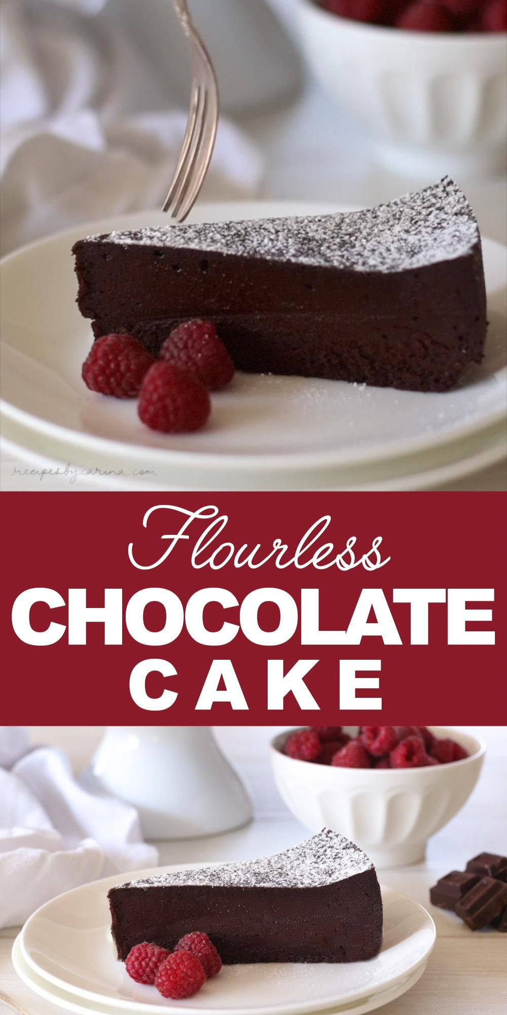 Photo of Flourless Chocolate Cake Recipe