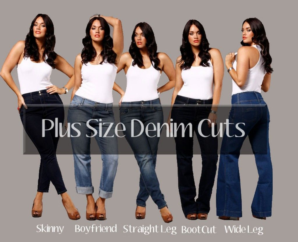 """12df0dae155 Throw Away your """"Fat"""" Jeans And Get Plus Size Jeans That Fit Your Sexy"""