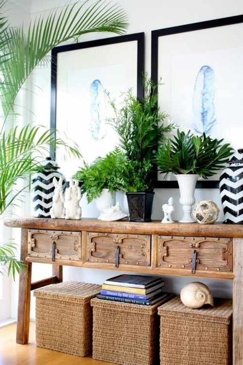 How to Style Console Table Vignettes Vignettes Console tables and