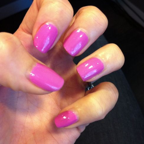 OVER IT by Sinful Colors. A fun fuchsia, perfect for any occasion.