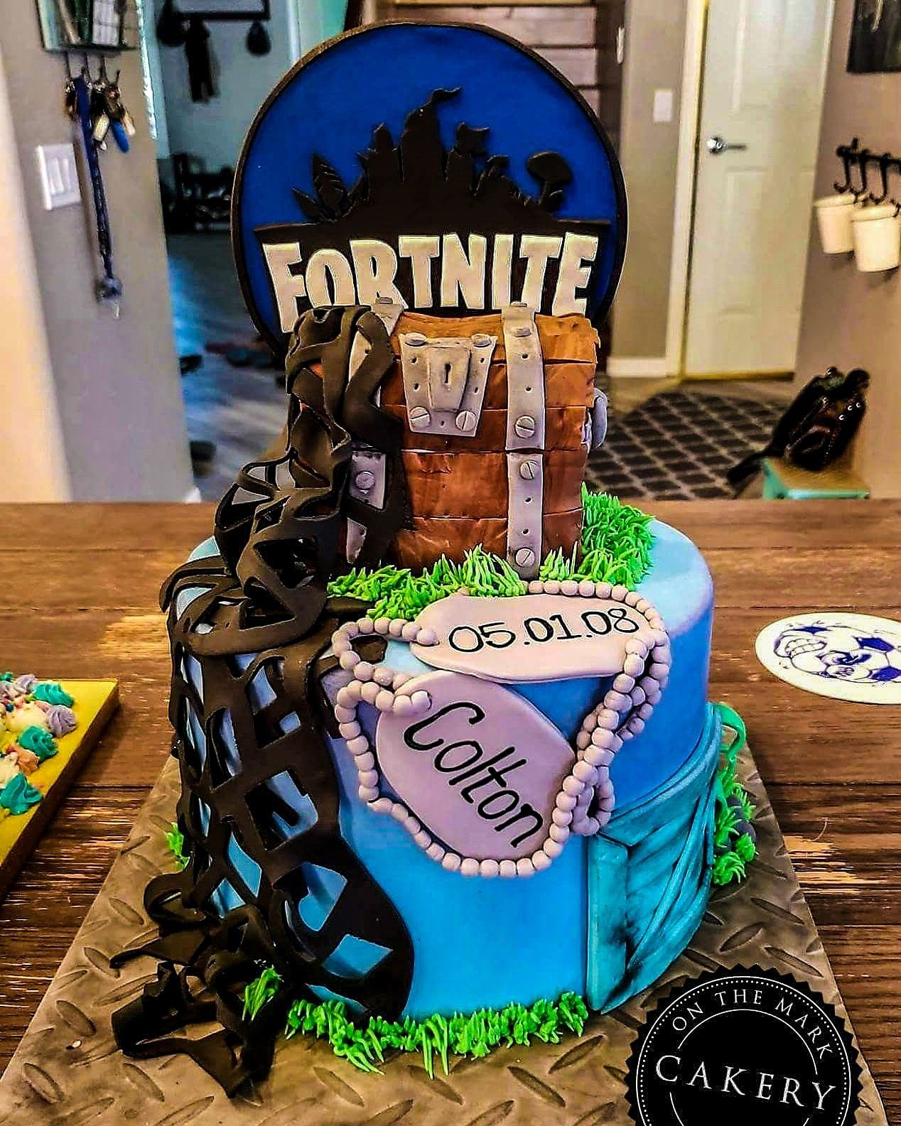 Fortnite Inspired Birthday Cake Perfect For Your Gamery Age