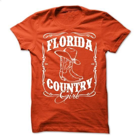 Florida Country Girl T-Shirt - #tshirt quilt #college hoodie. BUY NOW => https://www.sunfrog.com/LifeStyle/Florida-Country-Girl-T-Shirt.html?68278