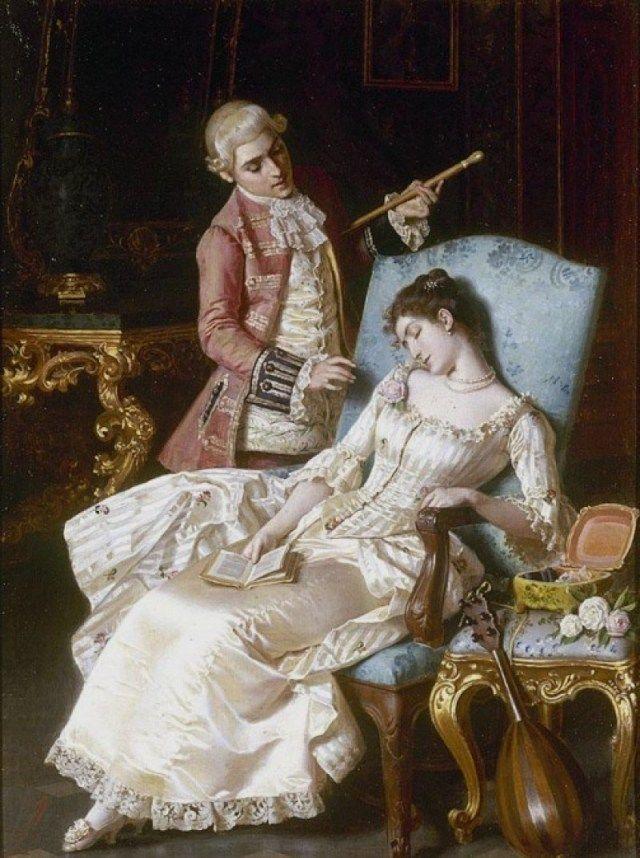 картинки с дамами и кавалерами: 16 тыс изображений найдено ...