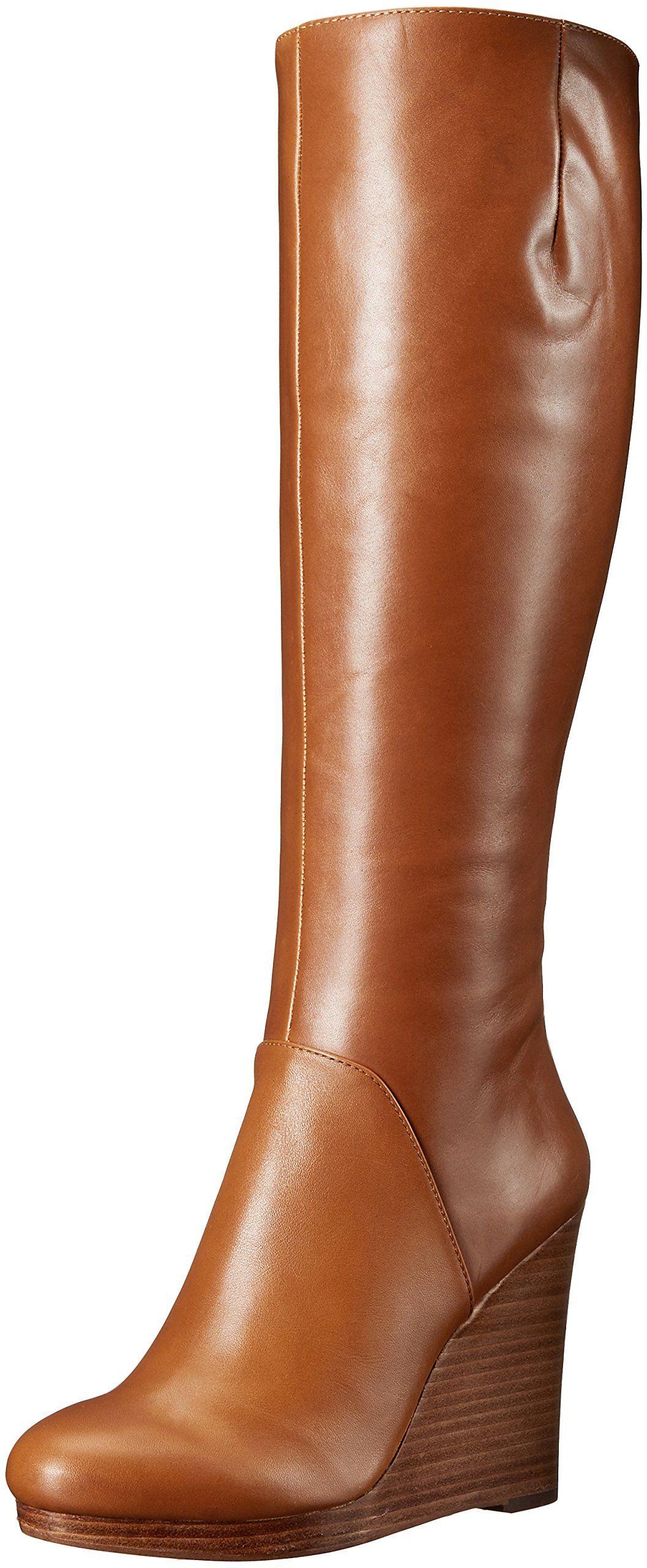 ca36f4c05a7 Nine West Women s Harvee Leather Winter Boot