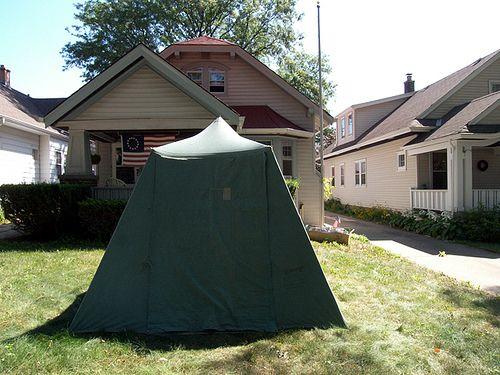 My Vintage Umbrella Tent #2   Tent, Tent awning, Vintage ...