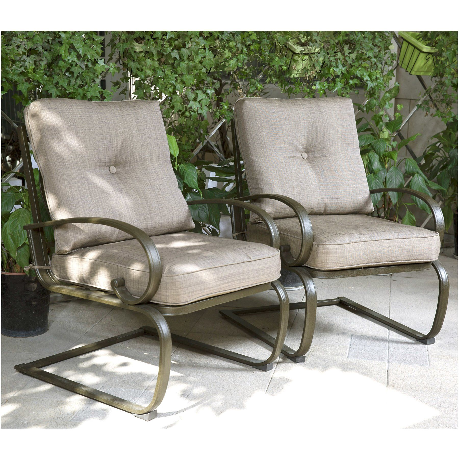 Check Out Cloud Mountain Set Of 2 Patio Club Chairs Outdoor