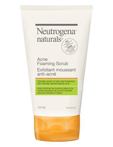 Neutrogena Naturals Acne Foaming Scrub 6 97 Best Organic