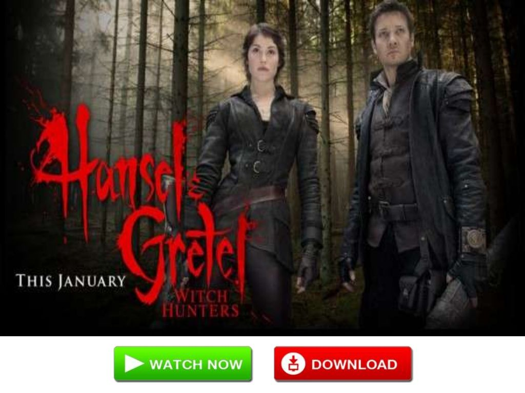 Hansel Gretel Witch Hunters 2013 Full Length Movie Free Download Watch Online 17856614 By I Like To Watch Hd Hunter Movie Newest Horror Movies Adventure Movies