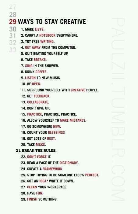 Creativenesssss
