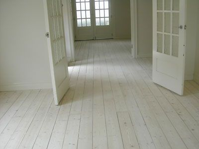 Painting Floorboards White Without Sanding