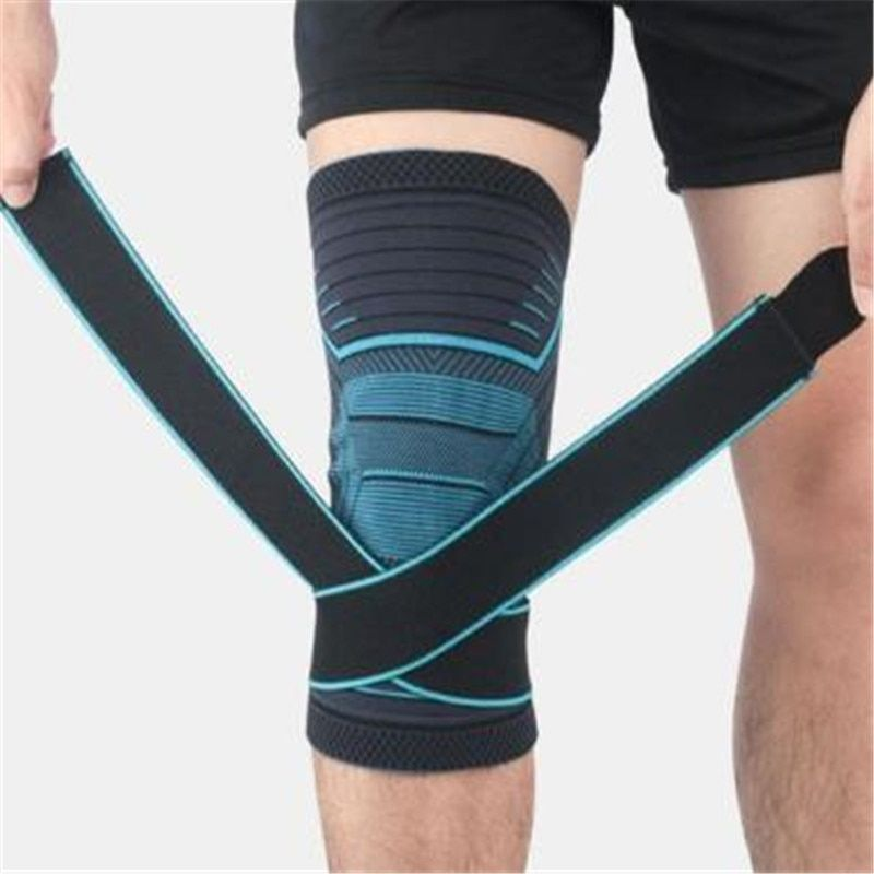1pcs Unisex Knee Support Professional Protective Sports Knee Pad Breathable Bandage Knee Brace Basketball Tennis Cycling 4c In 2020 Knee Support Knee Sleeves Knee Pads