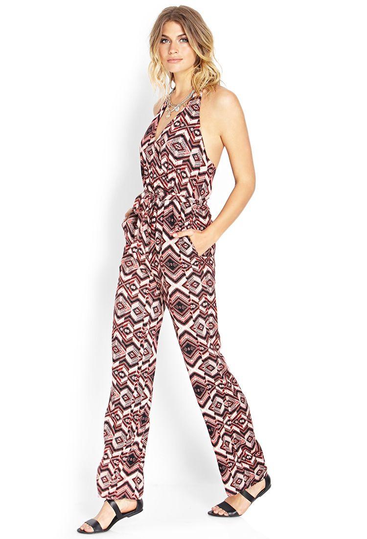 Groovy Goddess Surplice Jumpsuit   FOREVER21 #TrendingNow ...