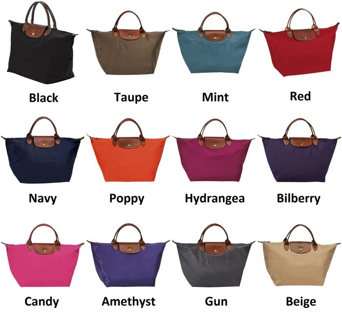 Longchamp Bag Le Pliage Colours : Longchamp le pliage colours handbags