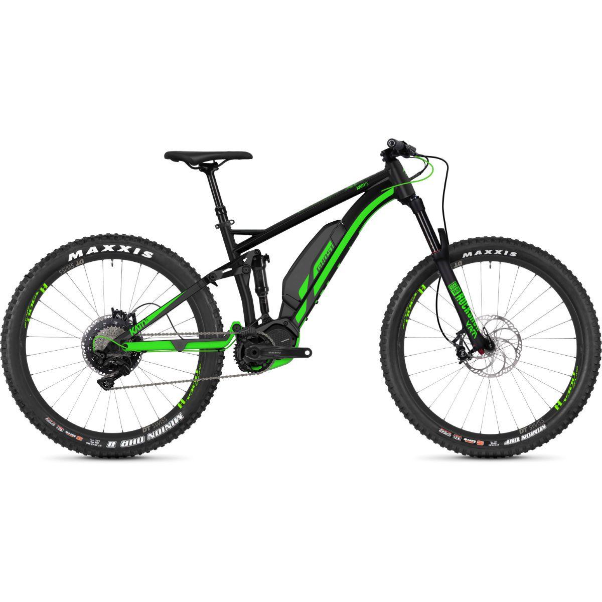 Ghost Kato Fs S6 7 2018 E Bike Full Suspension Mountain Bikes