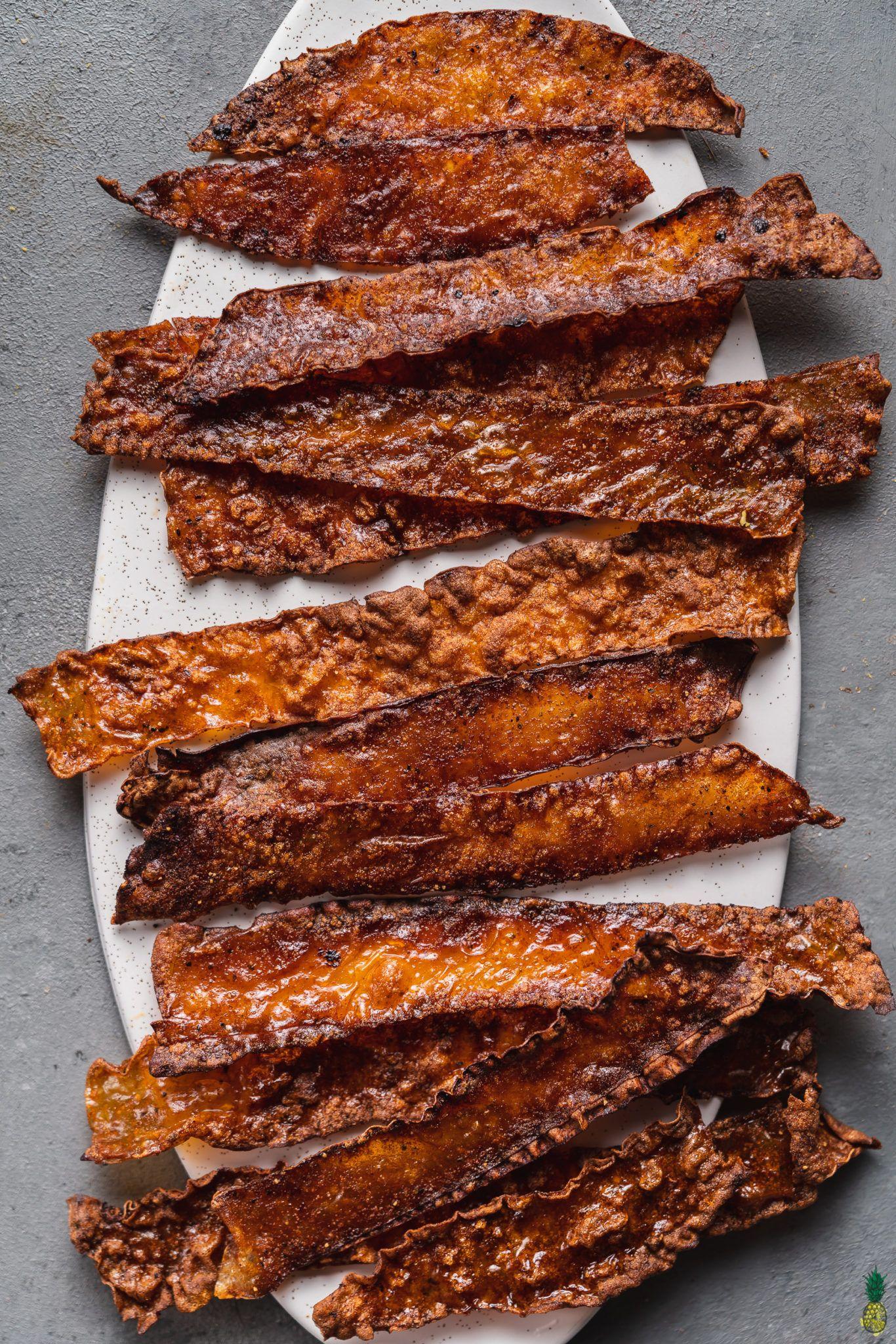 Crispy vegan bacon easy glutenfree recipe in 2020