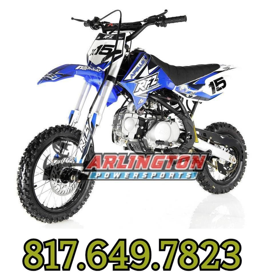 APOLLO DB-X15 125cc Manual Clutch Dirt Bike, 4 Stroke, Single Cylinder Sale  Price: $709.00