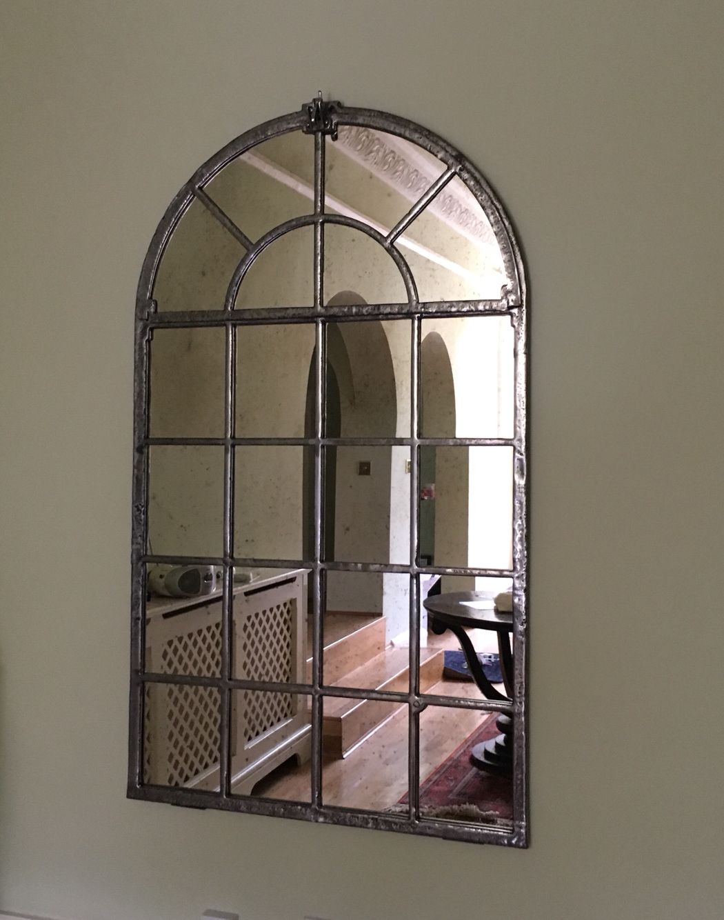 Interior Antique Window Mirror Arched Window Mirror Window