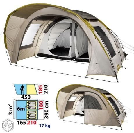 Tente Decathlon T6 2 6 Places Tente Decathlon Vacances