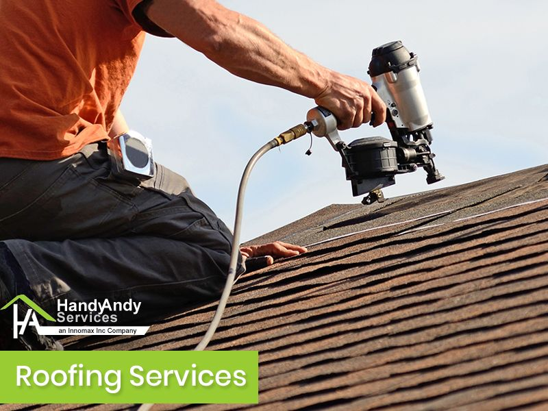 Call 704 737 3608 Handy Andy Services We Are Your One Stop Shop For All Your Outdoor Needs Inter Roofing Contractors How To Install Gutters Roofing Services