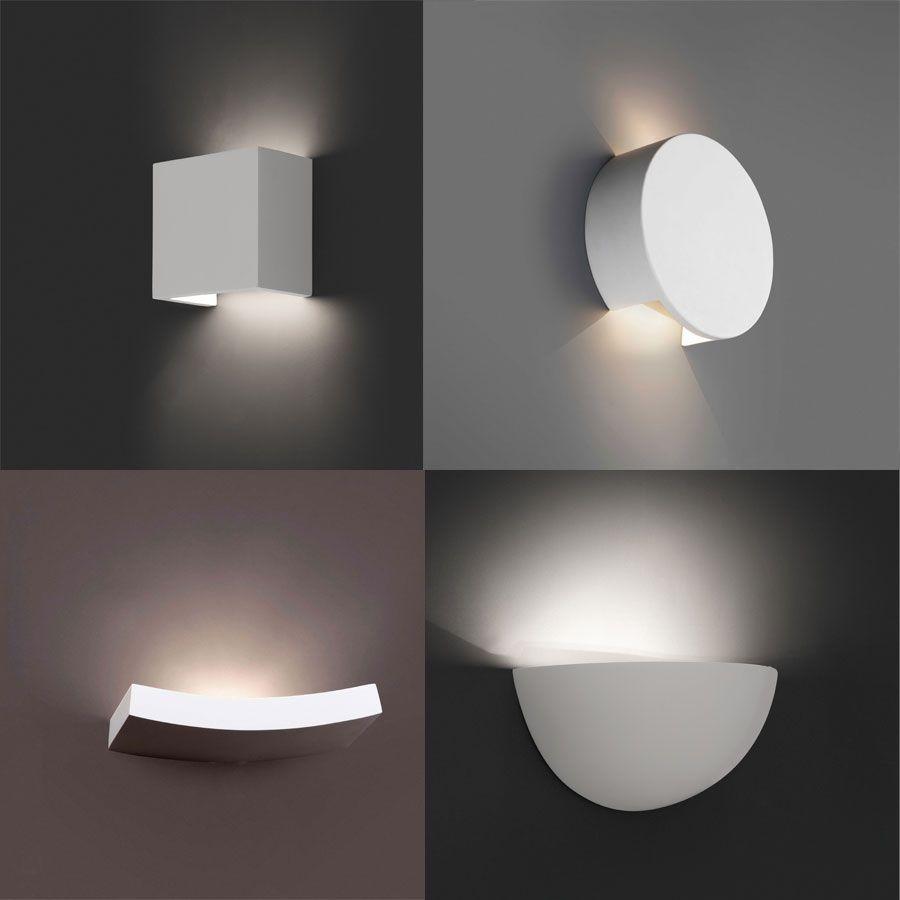 Apliques de yeso soluciones decorativas perfectas las - Apliques techo led ...