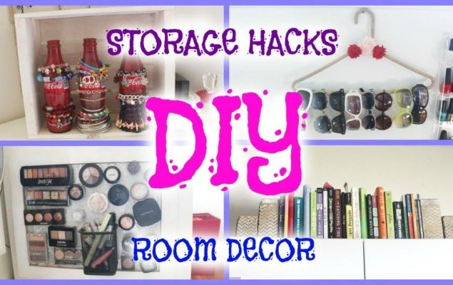 DIY ideas for storage in small spaces Small space storage ...