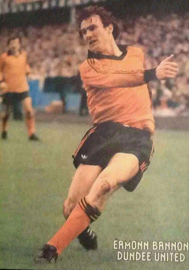 Eamonn Bannon of Dundee Utd in 1982.