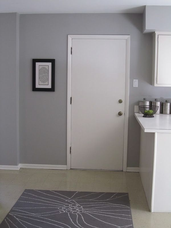 Mindful Gray Paint In Living Room: Mindful Grey- Sherwin Williams