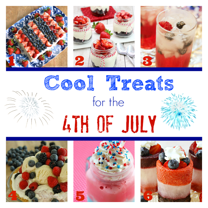Cool Treats for the 4th of July via Cooking With Curls