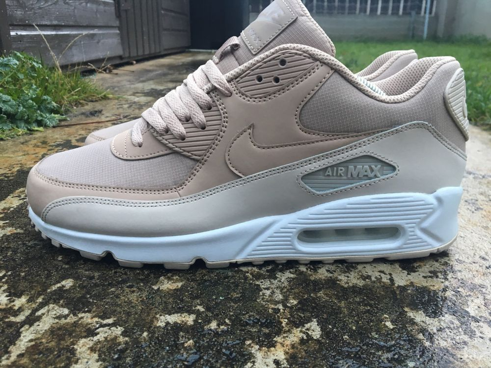hot sale online b7758 709c9 Nike Air Max 90 Size 9.5 UK Essential EU 44.5 Trainers Desert Sand  537384-087  Nike  RunningShoes