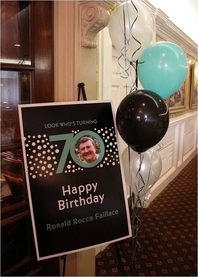 70th birthday parties on pinterest surprise party for 70th birthday decoration